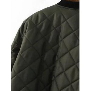 Checked Quilted Jacket -
