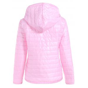 Slim Quilted Winter Jacket with Hood -