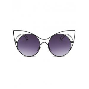 Cool Hollow Out Leg Cat Eye Sunglasses -