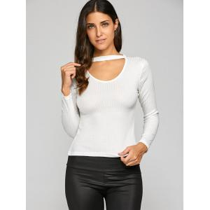 Hollow Out Slimming Knitwear -