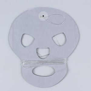 Halloween Party Decoration Supplies Skull Paper Cutting Prop - WHITE/BLACK