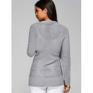 Batwing Infinite Wrap Sweater -