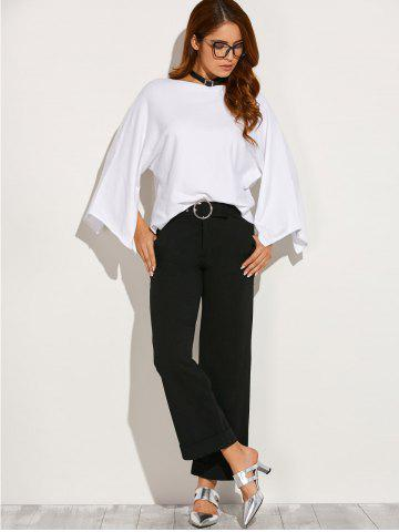 Shop Boat Neck Split Sleeve Top