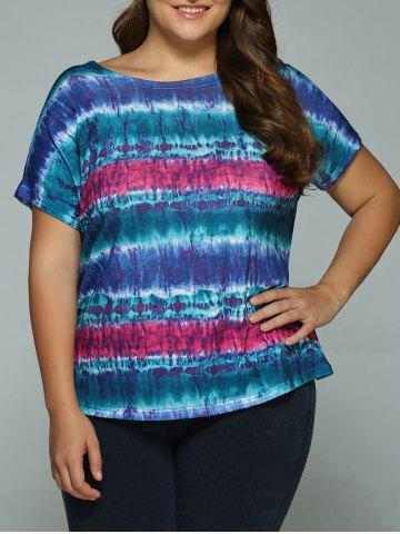 Outfits Plus Size Tie Dye T-Shirt