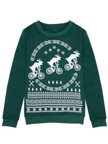 Online Fawn Merry Christmas Sweatshirt
