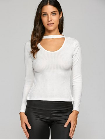 Shops Hollow Out Slimming Knitwear