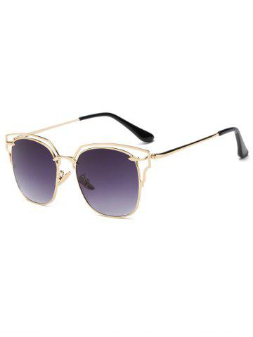 Chic Cool Hollow Out Irregular Square Sunglasses
