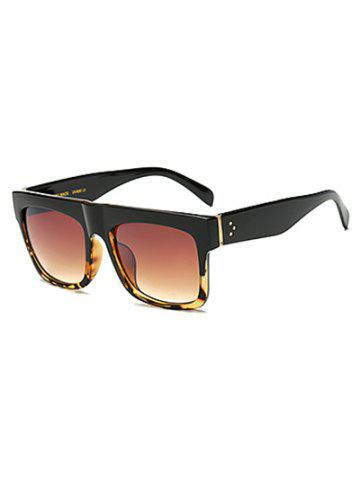Hot Cool Hawksbill Patch Frame Rectangle Sunglasses