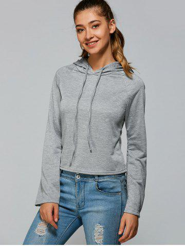 Outfit Flare Sleeve Pullover Hoodie
