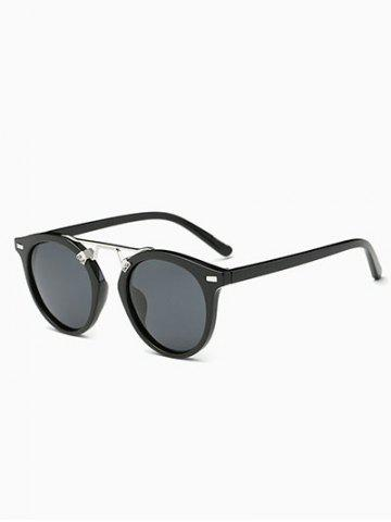 Online Vintage Dam Nose Bridge Oval Sunglasses
