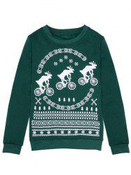 Fawn Merry Christmas Sweatshirt -