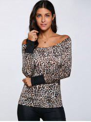 Cheetah Print Slim  Fit T-Shirt