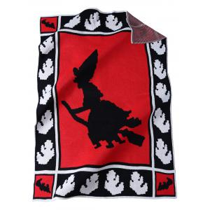 Originality Witch Pattern Knitted Rectangle Blanket