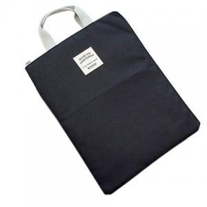 Zip Rectangle Shape Nylon Tote Bag