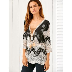 Crocheted Loose Top -