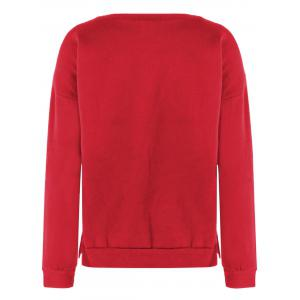 Christmas Sweater Fuzzy - Rouge L