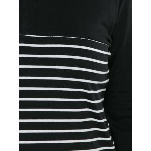 Striped Long Sleeve T Shirt -