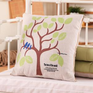 Home Decor Dual Purpose Car Noon Break Pillow Blanket - LIGHT GREEN