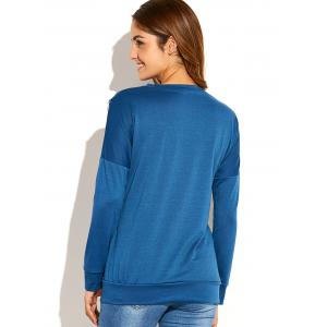 Zip Side Up Sweatshirt -