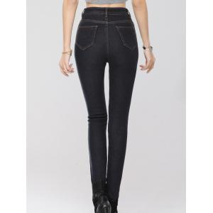 Stretchy Thickening Pencil Jeans -