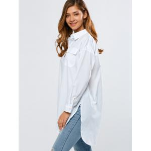 BF Style Long Loose High-Low Shirt -