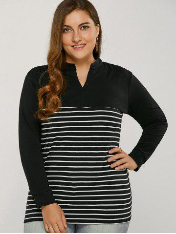 Buy Striped Long Sleeve T Shirt