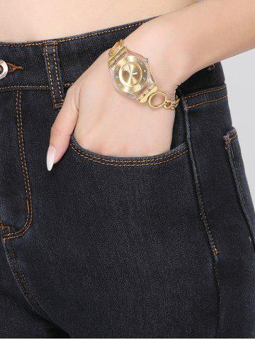 Best Stretchy Thickening Pencil Jeans - 2XL BLACK Mobile