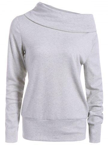 Haut Long Neck Sleeve Sweatshirt