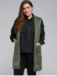 Two Pocket Waistcoat - ARMY GREEN