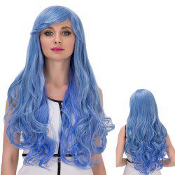 Long Side Bang Wavy Cosplay Synthetic Wig