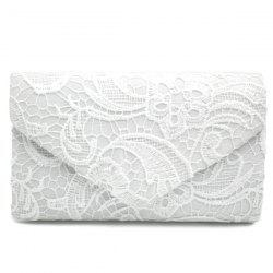 Envelope Lace Evening Bag