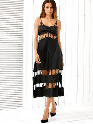 Cami Strappy Cut Out A-Line Dress -