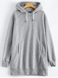 Pullover Hoodie with Pockets -