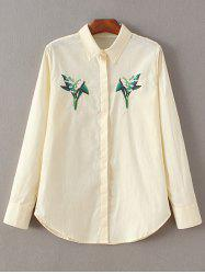 Embroidered Fitting Shirt -