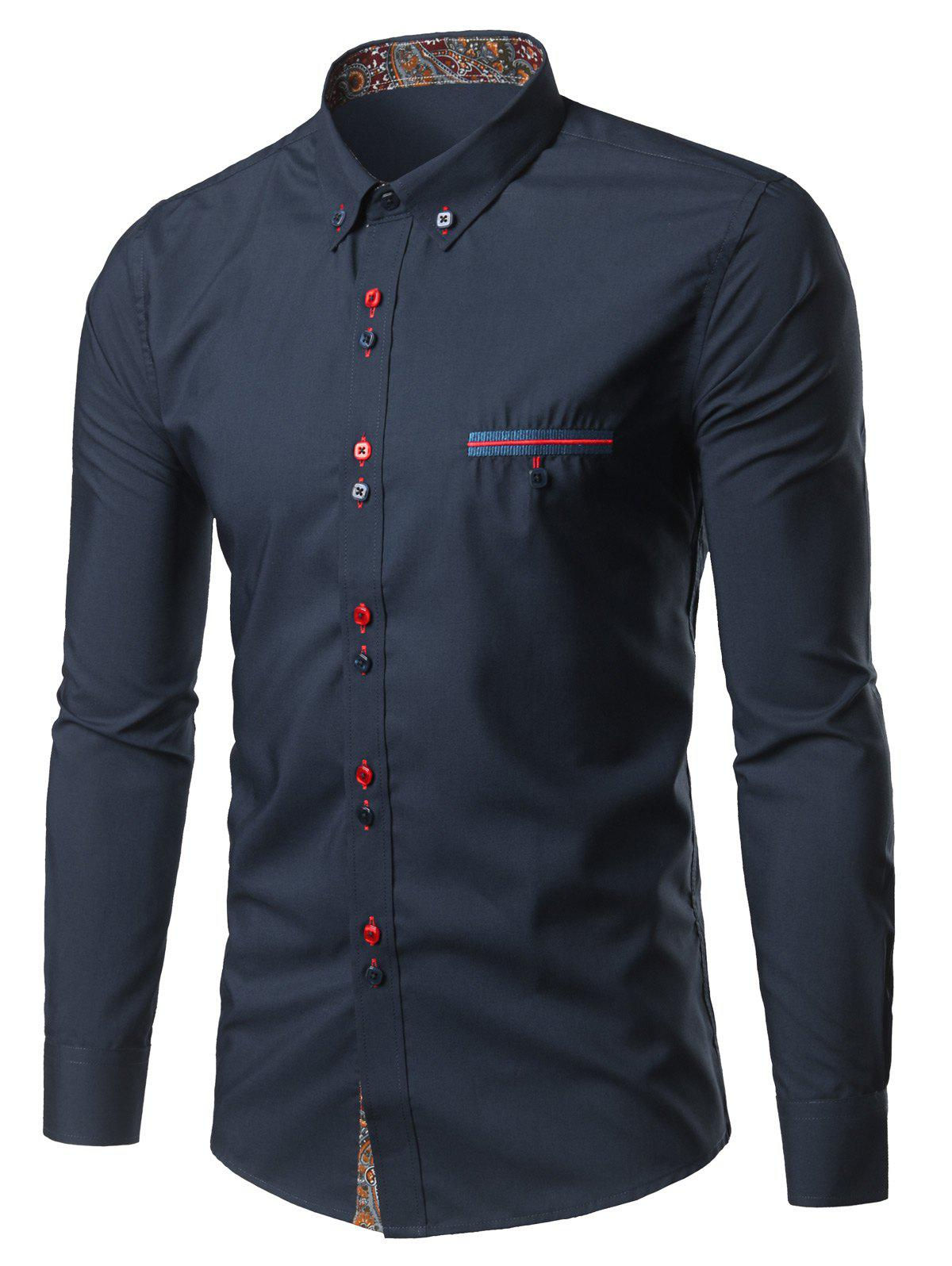 Find double button shirt at ShopStyle. Shop the latest collection of double button shirt from the most popular stores - all in one place.