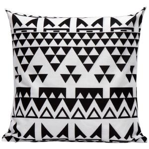 Soft Decorative Household Geometrics Triangles Pillow Case