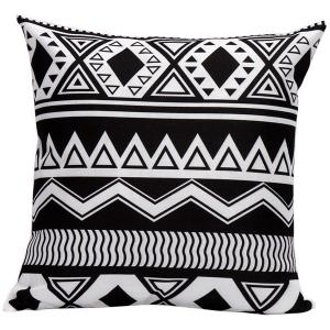 Soft Decorative Household Geometrics Corrugateds Pillow Case