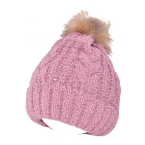 Warmer Beanie Knitted Fuzzy Ball Hat