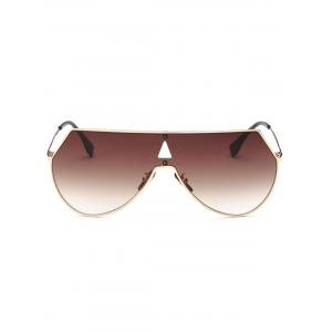 Hollow Triangle Polarized Alpina Shield Sunglasses -