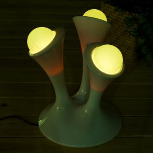 Colorful Mushroom Adjustable Bedside LED Night Light - COLORFUL US PLUG