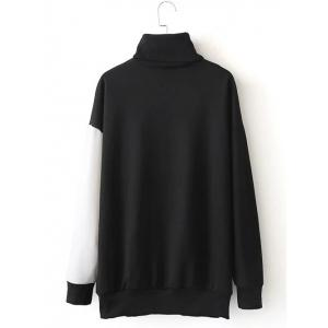 Or Insider Lettre Turtleneck Sweatshirt -
