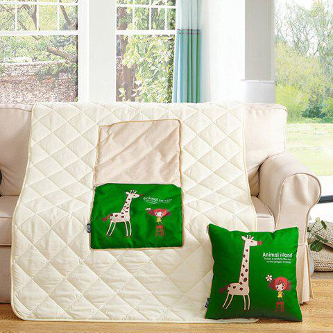 Best Multifunction Home Textile Cushion Pillow or Nap Quilt