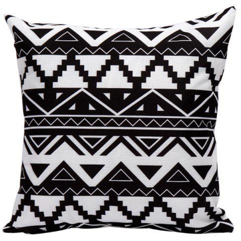 Best Soft Decorative Geometrics Sofa Bed Pillow Case