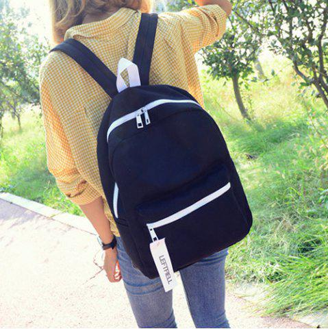 Shops Concise Pendant Canvas Backpack