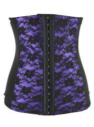 Lace Spliced  Steal Boned Underbust  Corset