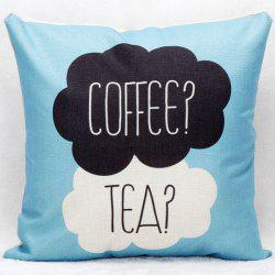 Hot Sale Coffee Tea Decorative Household Pillow Case - COLORMIX