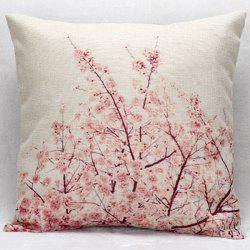 Hot Sale Cherry Blossom Decorative Household Pillow Case -