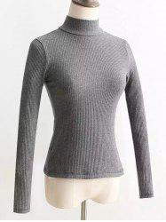 Dos Lace Up Turtleneck Pull -
