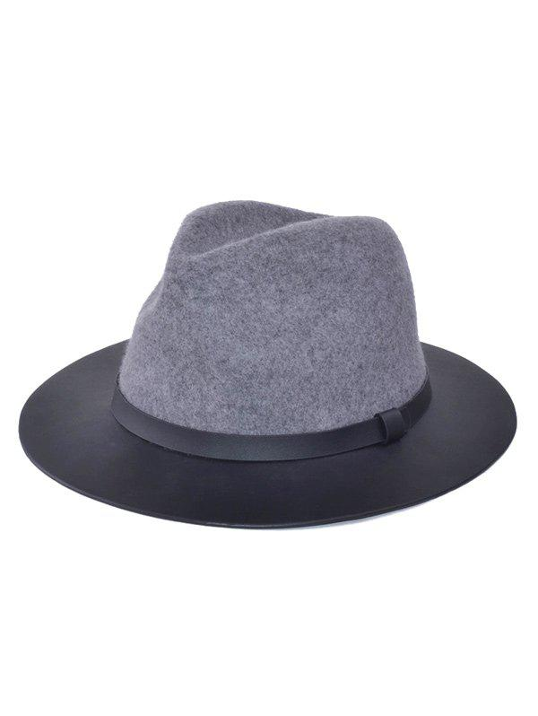 Outfits Winter Larger Brimmed Fedora Jazz Hat