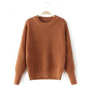 Stretchy Casual Loose Sweater